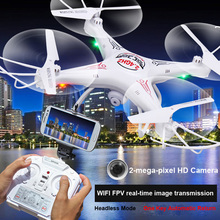 RC Helicopter D97 Drone With Camera HD 2.0 PM WIFI FPV Drones 6 Axis Gyro 4CH Phantom Dron Hexacopter Remote Control With Camera