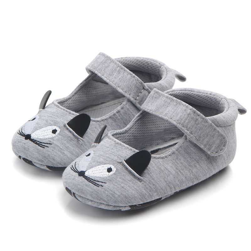 Fashion New Baby Kids Boys Girls Cute Lovely Winter Autumn Boots Toddler Soft Crib Shoes Unisex Animal Prinrted Cotton Sneakers