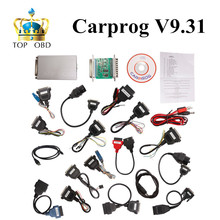 Newest Car prog Carprog V9.31 Full 21 Adaptor Professional Carprog ECU Programmer Auto Repair Airbag Reset Tools best price