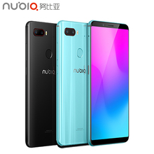 ZTE Nubia Z18 Mini Cell Phone 5.7 inch Screen 6GB RAM 128GB ROM Octa Core Snapdragon 660 Android 8.1 Dual Rear Camera Smartphone