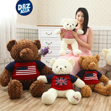 huge teddy bear plush big teddy bear clothing baby doll ty plush animals birthday gift girls
