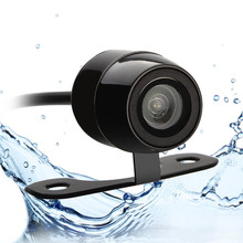 r Russian us shipment New 170 degree waterproof Mini Color CCD Reverse Backup Car ReaFront View Camera(China)