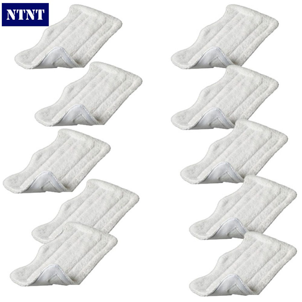 NTNT 10 pcs Washable Microfibre Steam Mop Cloth For Shark Lite Velcro Clean Pad New<br><br>Aliexpress