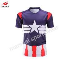 grade original league Personalized design rugby jersey in thailand any color pattern design can be customized futebol americano