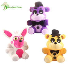 Skyleshine FNAF Five Night At Freddy 2016 New Pattern Pink&Wihte Foxy PP Cotton Stuffed Animal Plush Toys For Children#ML1001