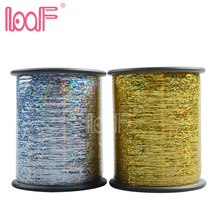 LOOF 200rolls synthetic crazy color hair braiding extensions 2COLORS, 2000m/roll wholesale hair distributors(China)