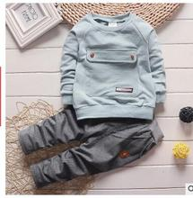 2016 new baby clothes kids suits 0-3  Big bag + pants children tracksuit boys and girls clothes set kids clothes