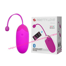 PRETTY LOVE USB Recharge Bluetooth Vibrator Wireless App Remote Control Vibrators for Women Vibrating Sex Toys Clit egg vibrador