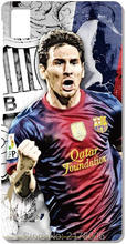 For BQ Aquaris M5 E5 E6 M5.5 X5 Plus For Nokia Lumia 520 630 930 For Blackberry Z10 Z30 Q10 Lionel Messi Cell Phone Case Cover(China)