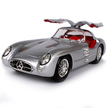 Maisto 1:18 MB 300 SLR Car model Retro Classic Car Diecast Model Car Toy New In Box Free Shipping 36898