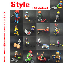 17 StyleGermany Genuine Playmobil Dolls Accessory My Secret Princess Castle Action Figure mini Bricks Toy Gift(China)