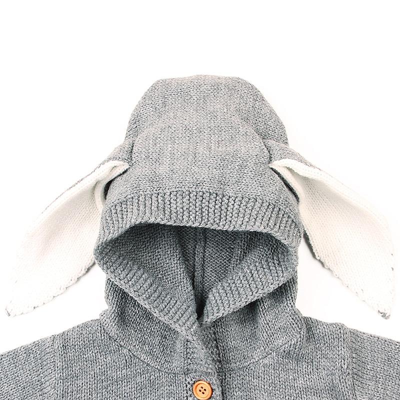Nette Neugeborene Gestrickte Pullover Baby Jungen Pullover Winter Warnen Häkeln Tops Kleidung Outfits Hoodies & Sweatshirts