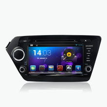 android 5.1.1 quad core 1024*600 HD LCD car dvd player for kia k2  2011-2014 autoradio media gps navi 3G DVR obd2 mirror link