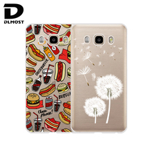 "TPU Soft Case For Samsung Galaxy J5 2016 J510 5.2"" Transparent Printing Drawing Silicone Cases Cover For Samsung Galaxy J5 2016"