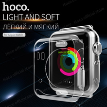 HOCO Shell for Apple Watch iWatch series 1 & 2 Soft Transparent Case 38 mm & 42 mm Ultra Thin Clear Protective Cover protection