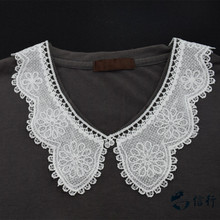Buy lace false collar white embroidered fake lace collar trim diy women applique sewing supplies african guipure lace collars#3531 for $1.22 in AliExpress store