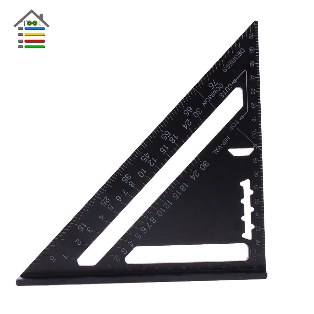 Aluminun Alloy Triangle Ruler Angle Ruler (2)