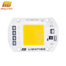 [MingBen] LED COB Lamp Chip 5W 20W 30W 50W 220V 110V Input Smart IC Driver Fit For DIY LED Floodlight Spotlight Cold/Warm White