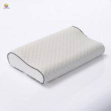 Home textile 50*30cm memory foam pillow water cube beige slow rebound health care ervical neck single throw pillows orthopedic(China)