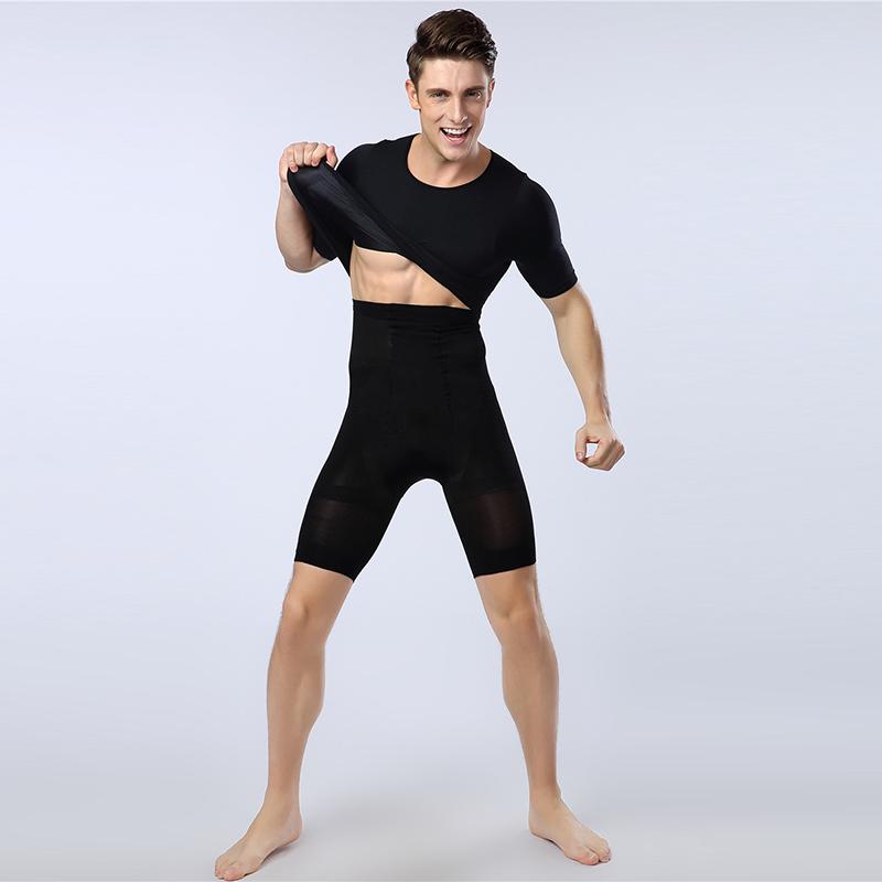 f8eee77adb 2019 Bodysuit Men Shapers High Waist Trainer Slimming Compression ...