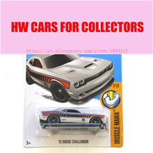 New Arrivals 2017 Hot Wheels 1:64 15 dodge challenger Metal Diecast Cars Collection Kids Toys Vehicle For Children Juguetes(China)