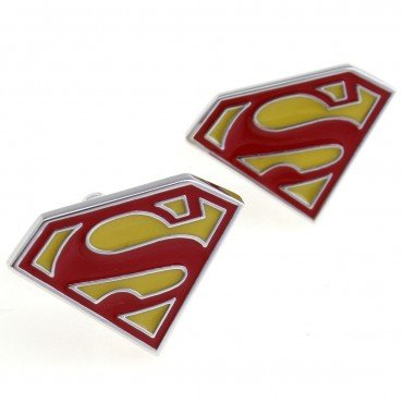 Superman Cufflink 15 pairs Wholesale Free Shipping
