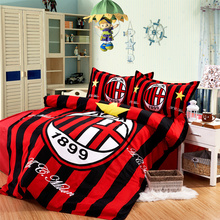 3Pcs Sport Bedding Set New Football Bedding Set Cotton Cover Bed Sheet Duvet Cover Sets Comforter 4 Feet Bedding Covers Home