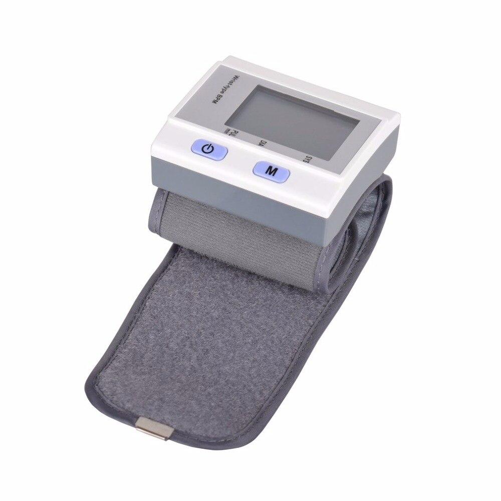 Wrist Type Full-automatic Tonometer Meter Smart Digital Blood Pressure Monitor Health Care Household Sphygmomanometer Hot New 5