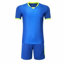 2017 New Design Men Short sleeves soccer jerseys Sets Custom Training football jerseys Uniforms Quick-dry breathable sports wear