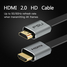 High Speed V2.0 HDMI Cable 4K*2K Male to Male 3D for Monitor Computer TV PS3/4 Projector HDTV 0.5m 1m 1.5m 2m 3m 5m(China)