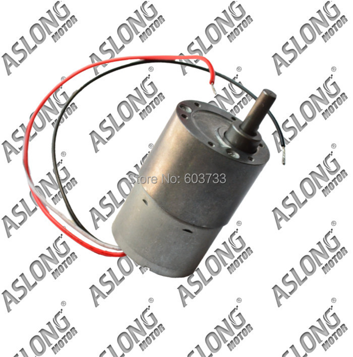 Rotate Speed Reduction Coreless Brushless Electric DC Geared Motor /12-24v 3-750rpm JGB37-3625 dc motor<br>