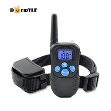 DEIRYLE Best 300m Remote Rechargeable Dog Training Collar,Electronic Training Collar Shock for Pets
