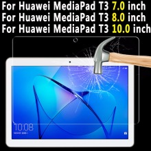 Premium Quality Tempered Glass For Huawei Mediapad T3 7.0 8.0 10.0 Tablet Screen Protector For Huawei Mediapad T3 10.0 8.0 7.0'