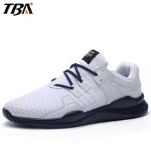TBA Breathable Fabric Running Shoes For Men Outdoor Jogging Long Distance Run Sport Shoes Man Brand High Elastic Men's Sneakers(China)