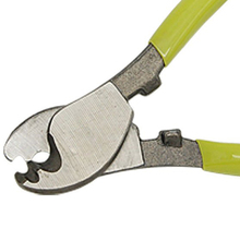 Yellow Green Handle Wire Cable Cutting Plier Cutter Stripper