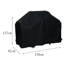 170*61*117M Black Waterproof Bbq Cover Outdoor Rain Barbecue Grill Protector For Gas Charcoal Electric Barbeque Grill
