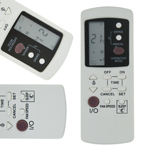 Multifunction Universal Air Conditioner Remote Control Replacement Mistral Air Conditioner White Remote Control For GZ-1002B-E3