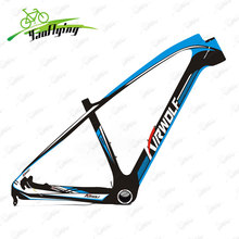 T800 29er carbon frame 650b carbon mountain bike frame 142*12 or 135*9mm Bicicletas Carbon MTB Frame 2017 free shipping(China)