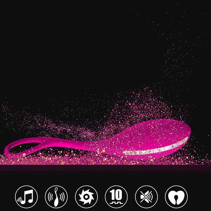 USB Rechargeable Wireless Music Control Vibrator Sex Toys For Women Female Masturbation Womanizer Flirt Gay Vibrating Game 15