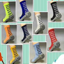 Unisex Triangular Anti Slip Football Socks Men Cotton Soccer Socks New Sports 2017 (The Same Type As The Trusox