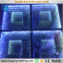 Free shipping LED Digital Dance Floor Light 50x50 3D DJ system ktv club dj led light disco floor