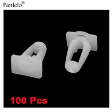 Buy 100PCS Car Clip Fit Hole Diameter 10mm Auto Car Vehicle Truck Door Fasteners White Plastic Rivets Clips Bumper Free for $8.95 in AliExpress store