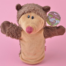 Hedgehog NICI hand puppet plush toy, Stuffed Baby / Kids Doll Toy Gift Free Shipping