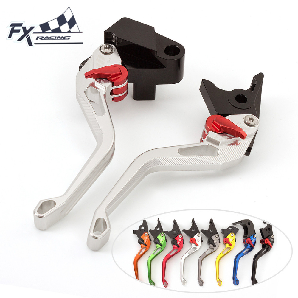 FX CNC Aluminum New Adjustable 3D Rhombus Motorcycle Brake Clutch Lever For DUCATI HYPERMOTARD 821 HYPERSTRADA 2013 - 2015 2014<br>