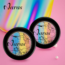 Naras Brand Prism Rainbow Highlighter Makeup Palette Powder Cosmetic Blusher Shimmer Iluminador Maquiagem Contour Eyeshadow