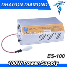 CO2 laser power supply ES100 EFR 100W for CO2 laser tube laser cutting and engraving machine(China)