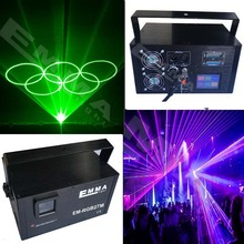 Hot sell Professional Seven color laser light laser show red green blue yellow RGBY color christmas laser projector(China)