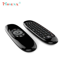 MOSUNX Mini 2.4G Wireless Keyboard 6-Axis Gyroscope Air Mouse Remote Controll for PC TV Futural Digital F20
