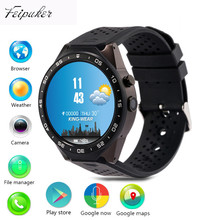 Feipuker kw88 Android 5.1 Smart Watch 512MB + 4GB Bluetooth 4.0 WIFI 3G Smartwatch Phone Wristwatch Support Google Voice GPS Map