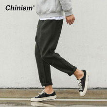 CHINISM Military Classic Men Casual Pants Casual Wool&Cotton Mens Cargo Pants Breathable Cool Brand Trousers(China)